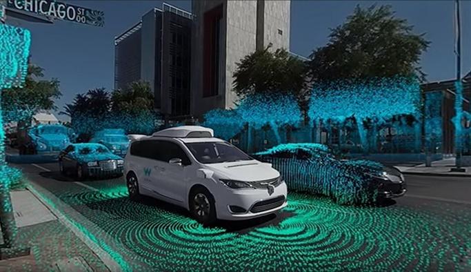 Google, sürücüsüz aracının nasıl gördüğünü yayınladı