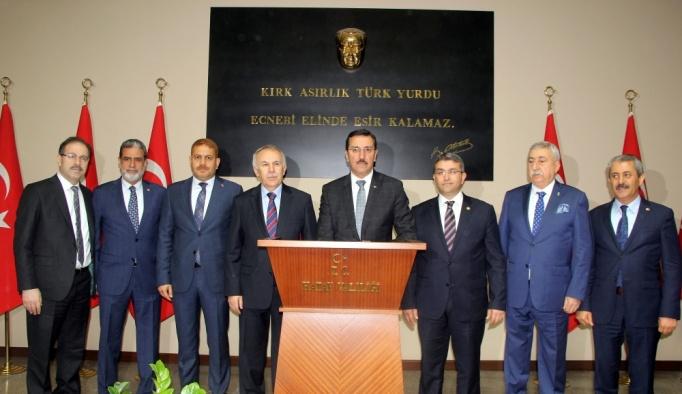 Gümrük ve Ticaret Bakanı Tüfenkci, Hatay'da