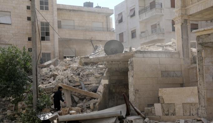 İdlib'e hava saldırısı: 5 ölü, 15 yaralı