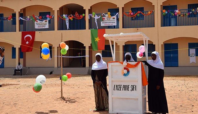 İHH'dan Burkina Faso'ya Malcolm X lisesi