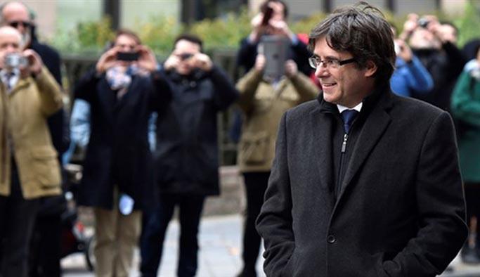 Katalan liderler hakkında yakalama kararı