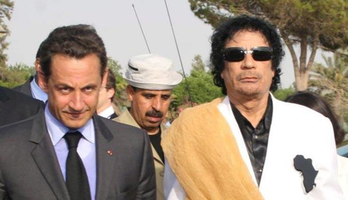 Libya'dan Sarkozy'yi yakacak açıklamalar