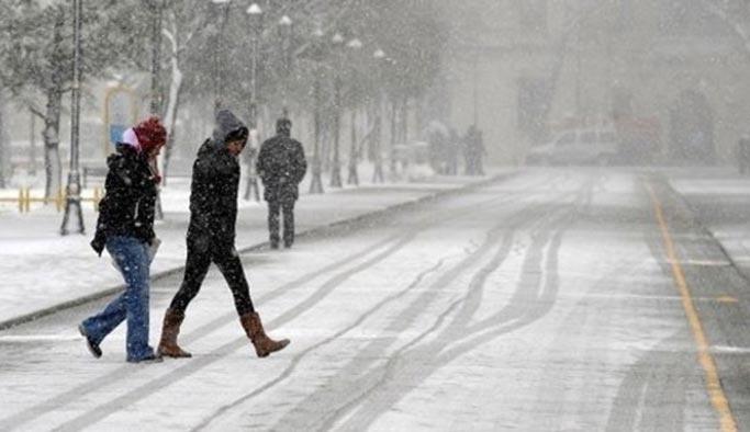 Marmara'ya kar ve toz uyarısı
