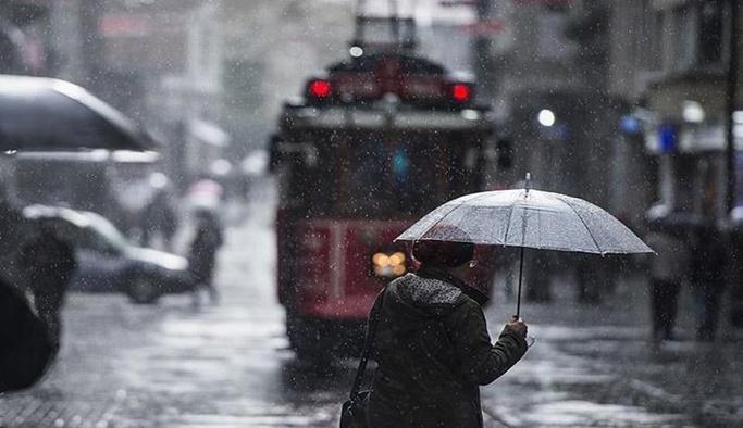 Meteoroloji'den yurt genelinde kuvvetli yağış uyarısı