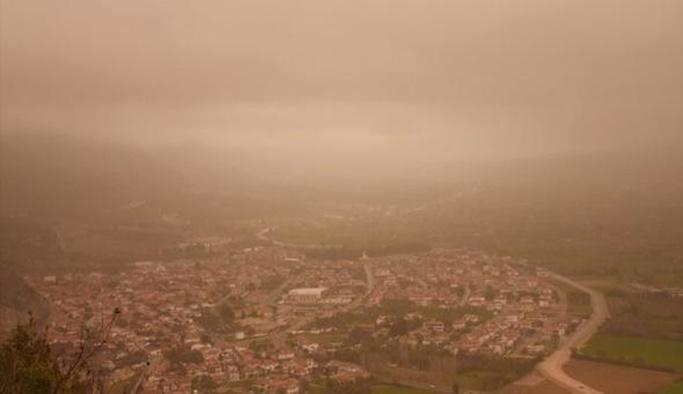 Meteorolojiden uyarı: Toz geliyor