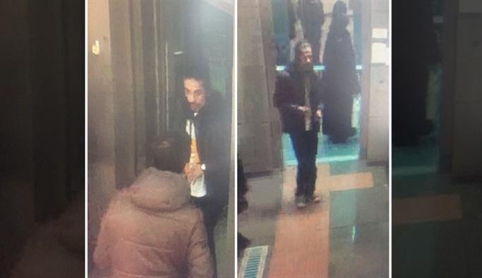 Metroda çarşaflı kadına çirkin saldırı