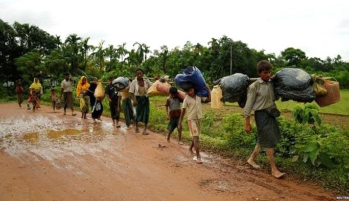 MSF: Arakan'da bir ayda 9 bin Müslüman öldürüldü