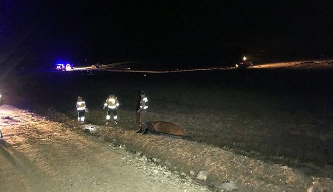 Nevşehir'de askeri eğitim uçağı düştü