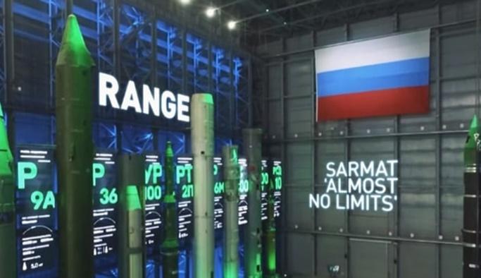 Rusya'dan sınırsız menzilli Sarmat füzesi
