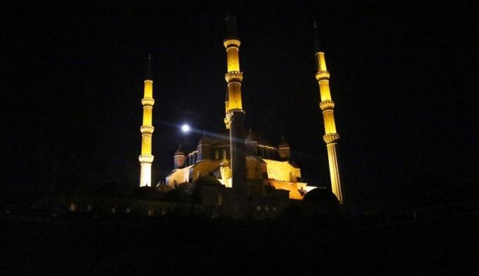 Selimiye Camii'nin ışıkları kapanacak