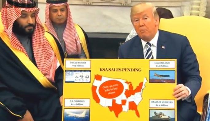 Trump'tan 'şaşırtmayan' tuhaf hareketler
