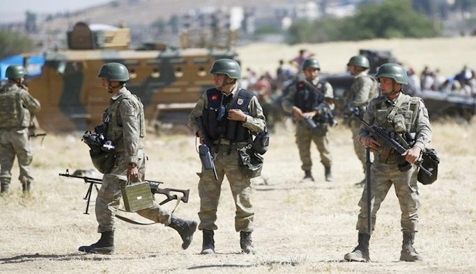TSK Suriye'den açılan ateşe karşılık verdi, 8 terörist etkisiz hale getirildi