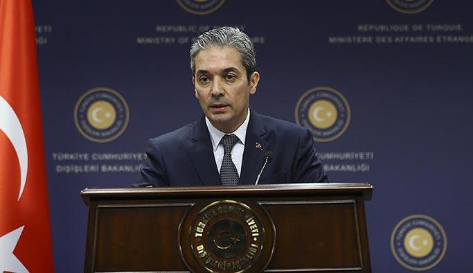 Türkiye'den Yunanistan'a 'Kardak' uyarısı