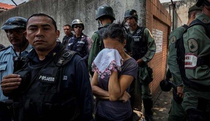 Venezuela'da isyan katliama dönüştü