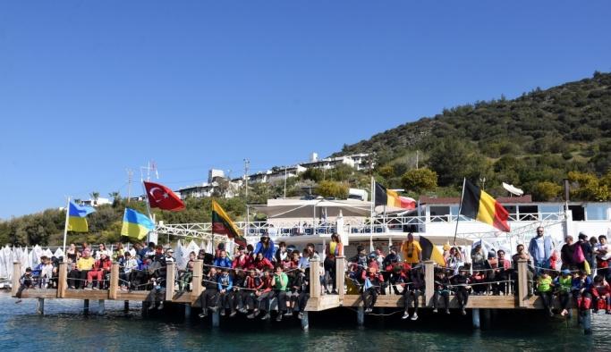 Yelken: 6. Bodrum Uluslararası Optimist Yarışları