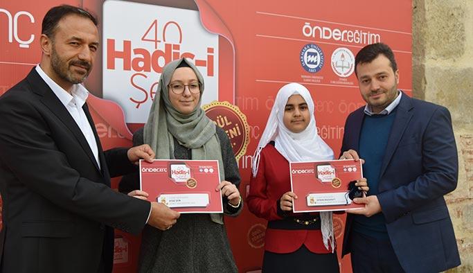 40 Hadis Yarışması'nda ödüller verildi