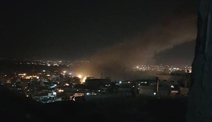 Batılı güçler Suriye'yi vurdu
