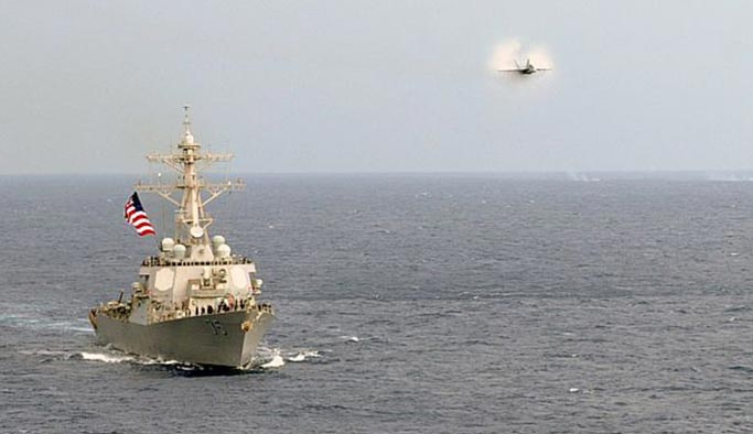 Akdeniz'de hareketlilik, ABD her an saldırabilir