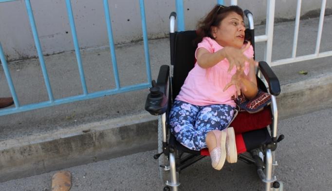 Adana'da engelli kadının cep telefonu çalındı