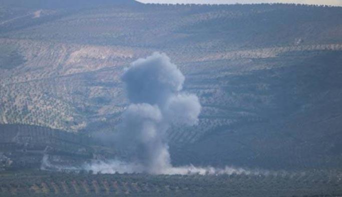 Afrin'de mayın patladı, bir sivil şehit