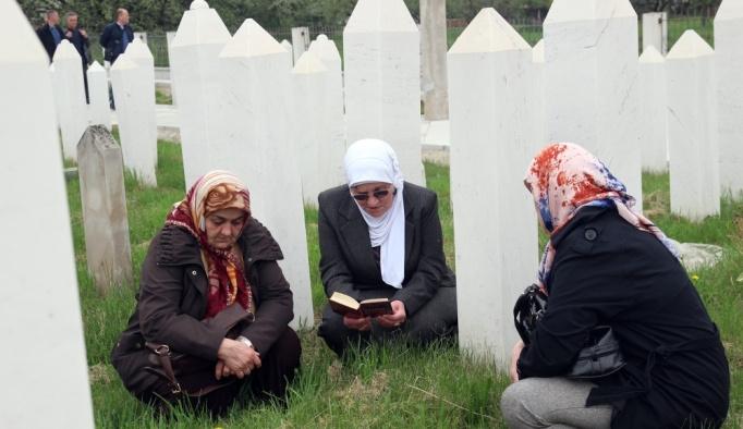 Ahmici'de katledilen 116 Boşnak dualarla anıldı