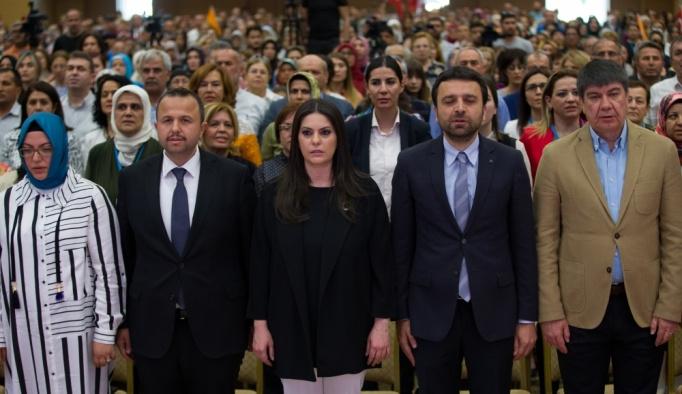 AK Parti Antalya Kadın Kolları 5. Olağan Genel Kurulu