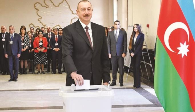 Aliyev 2025'e kadar görevine devam edecek