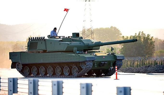 ALTAY tankı yerli sanayinin vitrini olacak