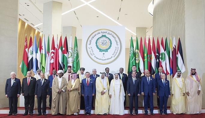 Arap Birliği Zirvesi'nden Filistin ve İran bildirisi