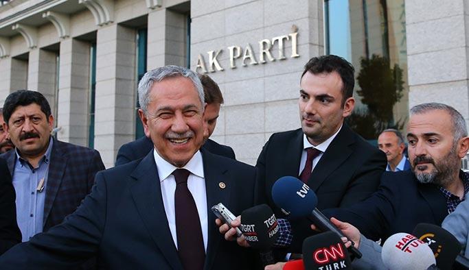 Arınç, Erdoğan ile ne konuştuklarını açıkladı