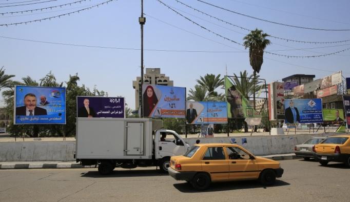 Bağdat sokakları seçim posterleriyle dolsa da halk gelecekten umutsuz