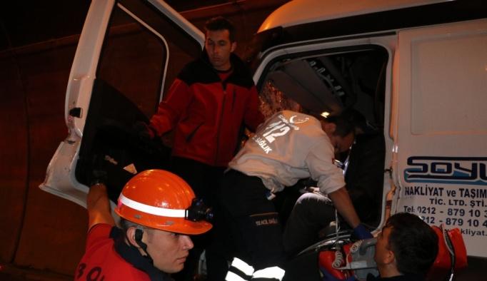 Bolu Dağı Tüneli'nde trafik kazası: 1 ölü