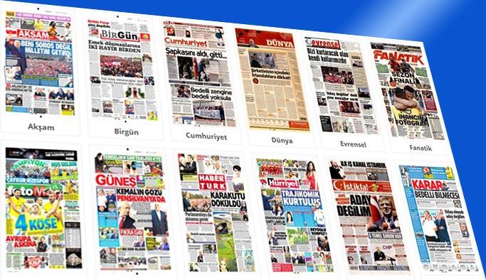 Gazete manşetleri - 29 Nisan 2018