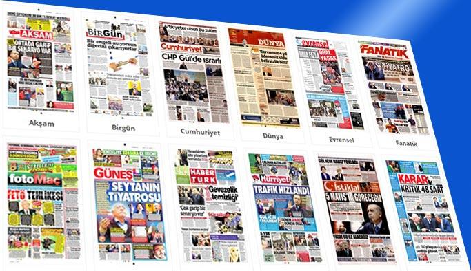 Bugünün gazete manşetleri 25 Nisan 2018