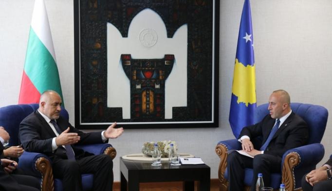 Bulgaristan Başbakanı Borisov Kosova'da