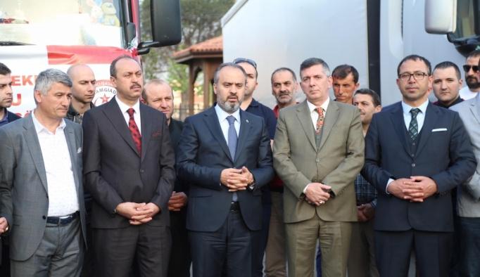 Bursa'dan Doğu Gutalılara yardım eli