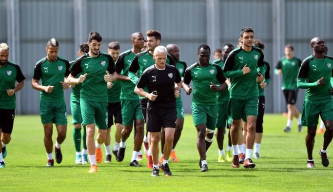 Bursaspor, Kardemir Karabükspor maçının hazırlıklarına başladı
