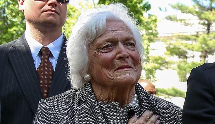 Bush'un annesi Barbara Bush öldü