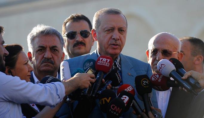 Cumhurbaşkanı Erdoğan'dan Abdullah Gül cevabı