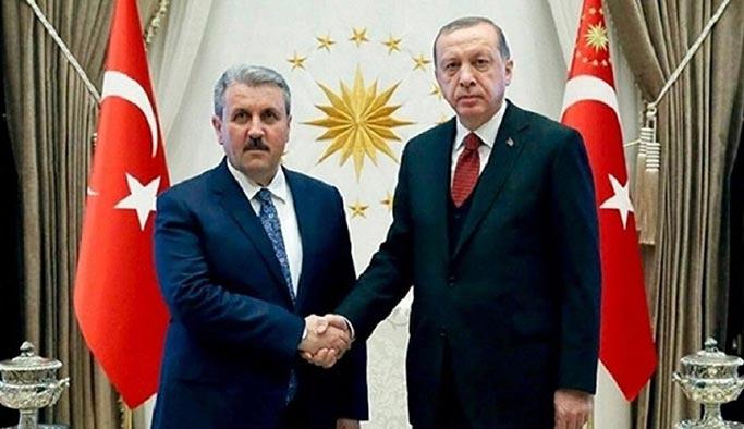 Cumhurbaşkanı Erdoğan, Destici'ye kabul edecek