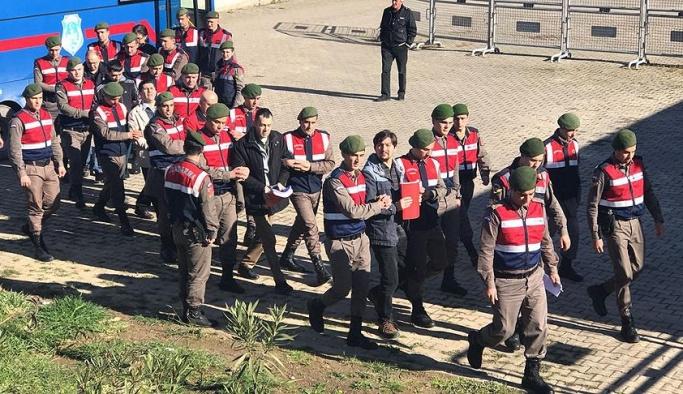 Donanma Komutanlığı'nda tanık ifadeleri alındı
