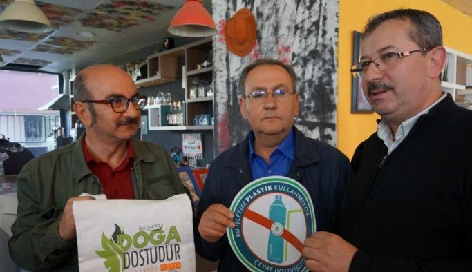 Edirne'de esnaf plastiğe savaş açtı
