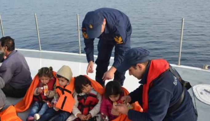 Ege'de yasa dışı göçle mücadele