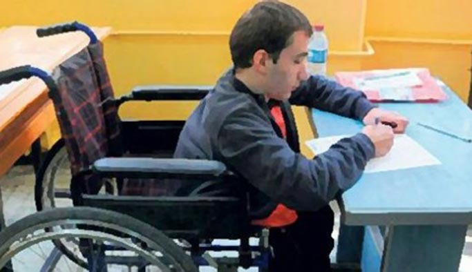 Engelli KPSS yapıldı