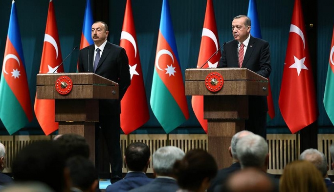 Erdoğan ve Aliyev Ankara'da bir araya geldi