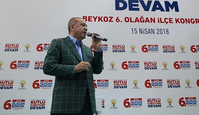Erdoğan'dan Beykozlulara 'Kiptaş müjdesi'