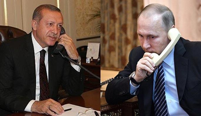 Erdoğan, Trump'tan sonra Putin ile görüştü
