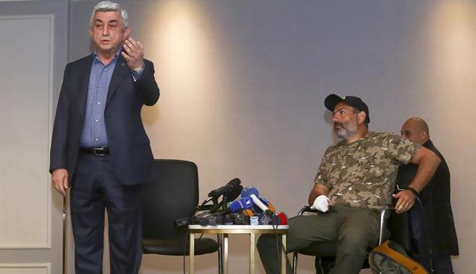 Ermenistan'da gerilim daha yükseldi