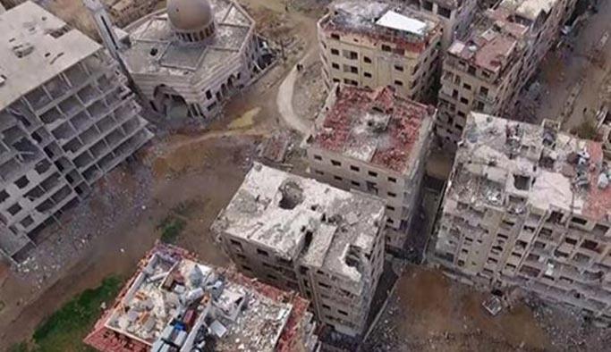 Esed rejimi Diyanet'in barınma merkezini vurdu