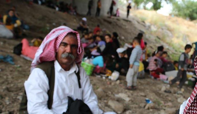 Sincar'daki Yezidiler PKK'ya rest çekti